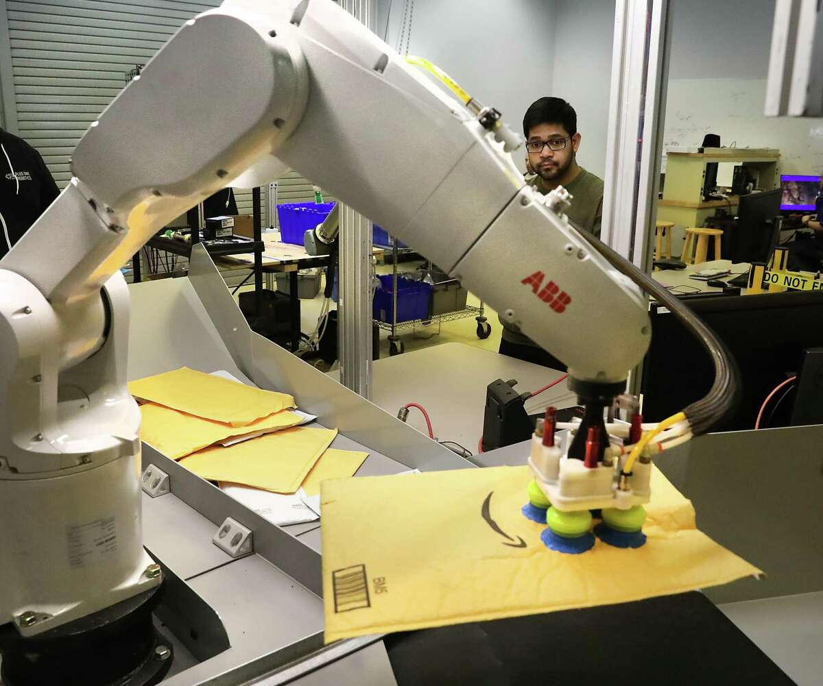 San Antonio-based Plus One Robotics is planning to move into a bigger office space and hire more employees this summer.