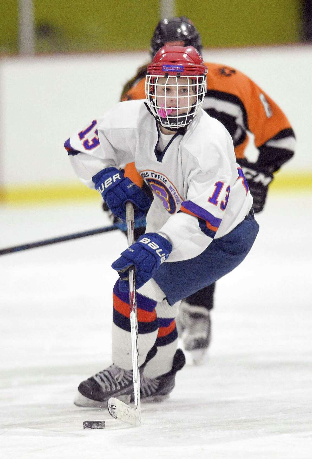 Stamford-Westhill-Staples Co-op freshman center Meadow Gilchrist.