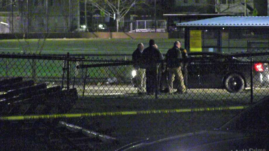 Police investigate a homicide in Bridgeport, Conn., on Monday, Feb. 11, 2019. Photo: Contributed Photo / Contributed Photo / Connecticut Post Contributed