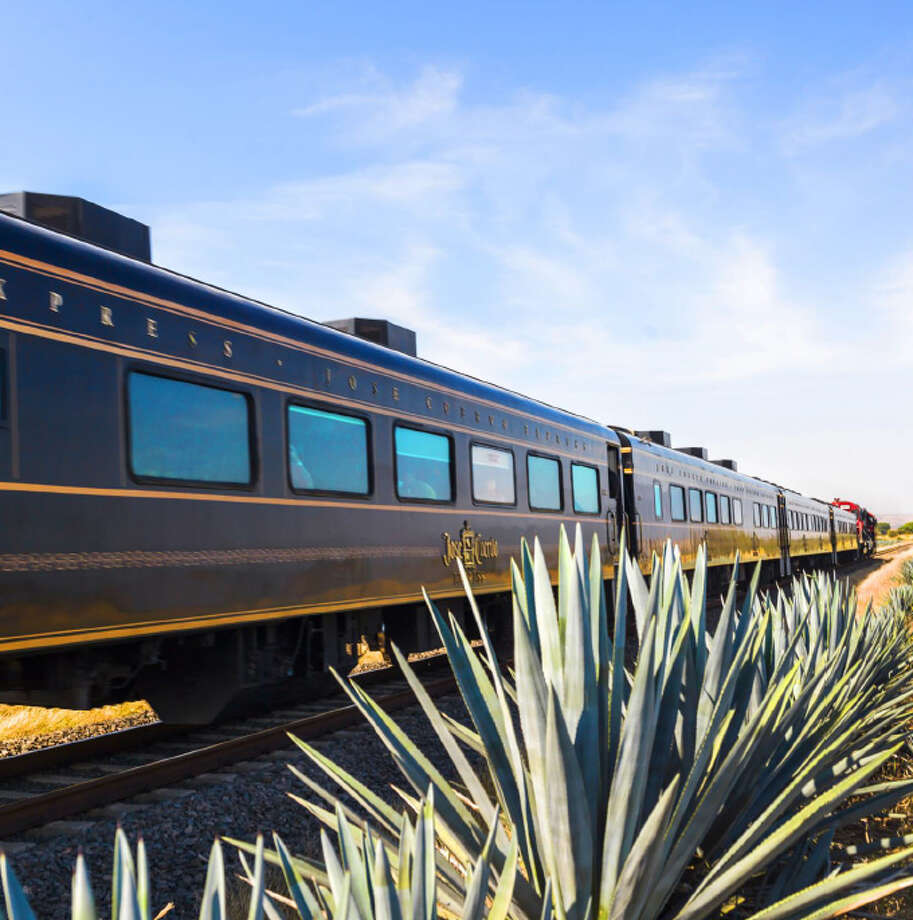 The Jose Cuervo Express in western Mexico offers three experiences for a day-long train ride featuring tequila tastings and more. Photo: Courtesy Mundo Cuervo