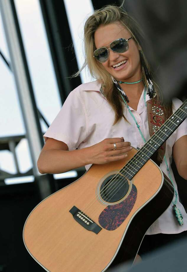 Central Green Park, 23501 Cinco Ranch Blvd., will feature Bri Bagwell on Feb. 7 from 7-9 p.m. This show is free. Above, Bagwell performs at the Texas Thunder Music Festival. Photo: Rick Diamond, Staff / Getty Images / 2013 Getty Images