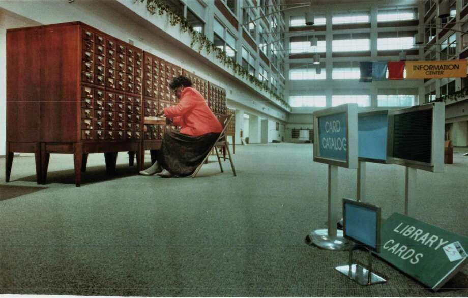 Images from the New Haven Public Library 1990-91 Photo: Hearst Connecticut Media File Photo