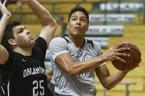 TAMIU guard Xabier Gomez scored 20 points but the Dustdevils lost 89-64 to Oklahoma Christian in their worst defensive outing of the year on Thursday night.