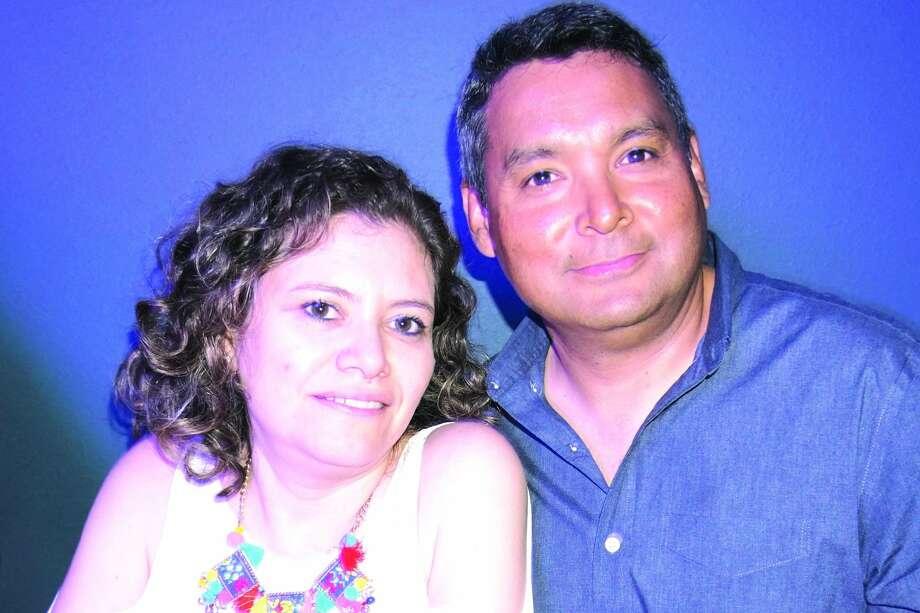 Alina and Victor Esparza at Planeta 80 Friday, February 15, 2019 Photo: Jose Gustavo Maorales