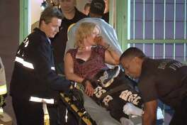 A woman was pulled from an air vent in a north Houston home on Thursday night. She said she didn't remember how she got there and only suffered minor injuries.