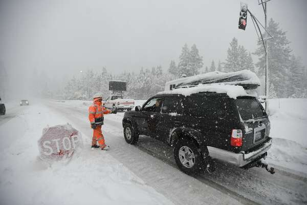 Snow: I-80 to Tahoe, Hwy  50 reopened, chains required - SFChronicle com