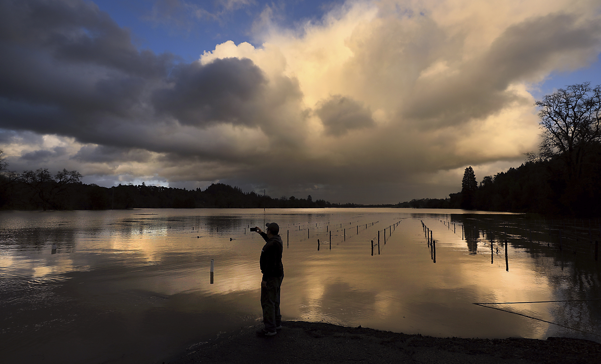 Lightning, thunder, hail and sunshine combine for an unpredictable afternoon of Bay Area weather