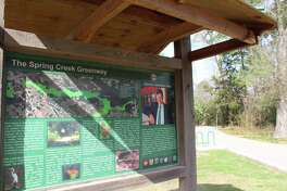 The Spring Creek Greenway connects Dennis Johnston Park in Spring to other Harris County Precinct 4 Parks along the trail system.