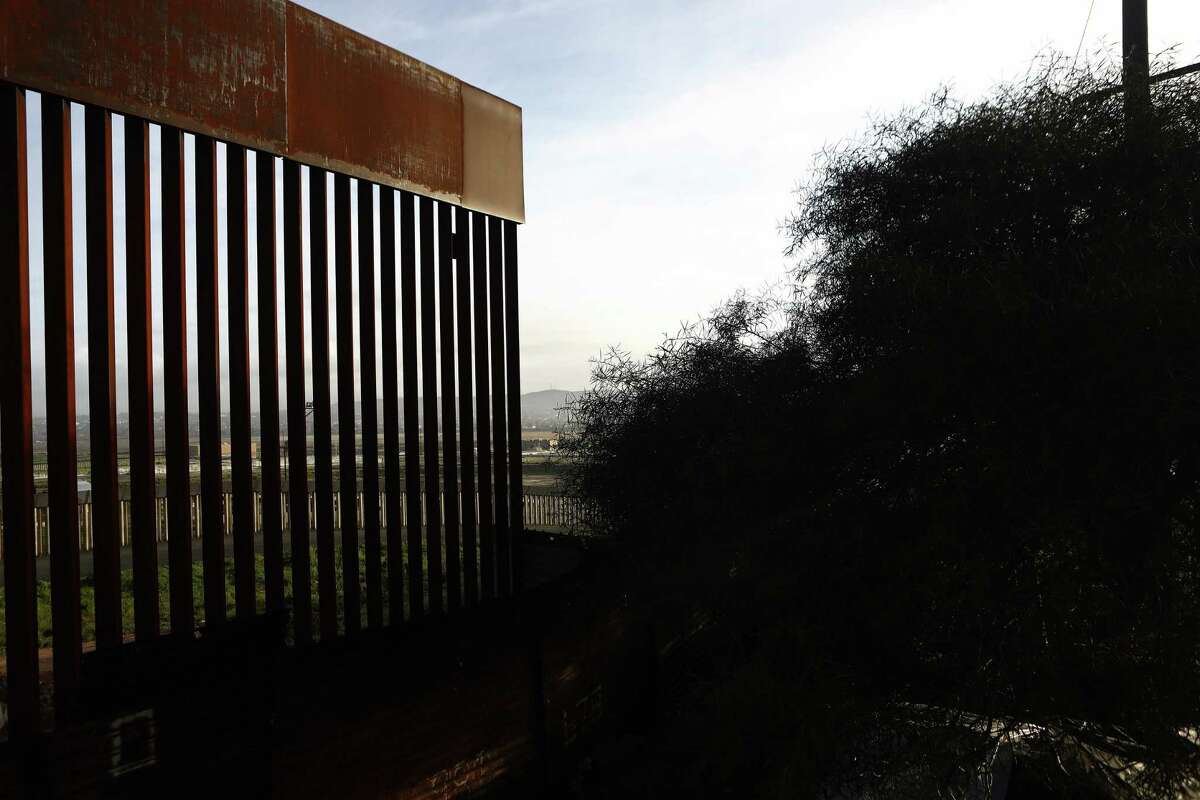 The U.S.-Mexico border barrier stands on February 15, 2019 in Tijuana, Mexico. President Trump has declared a national emergency which will bypass Congress to fund his proposed border wall. (Photo by Mario Tama/Getty Images)