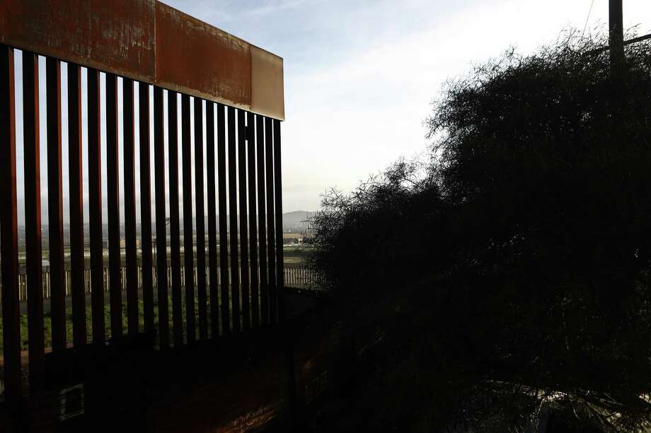The U.S.-Mexico border barrier stands on February 15, 2019 in Tijuana, Mexico. President Trump has declared a national emergency which will bypass Congress to fund his proposed border wall. (Photo by Mario Tama/Getty Images) Photo: Mario Tama / Getty Images / 2019 Getty Images