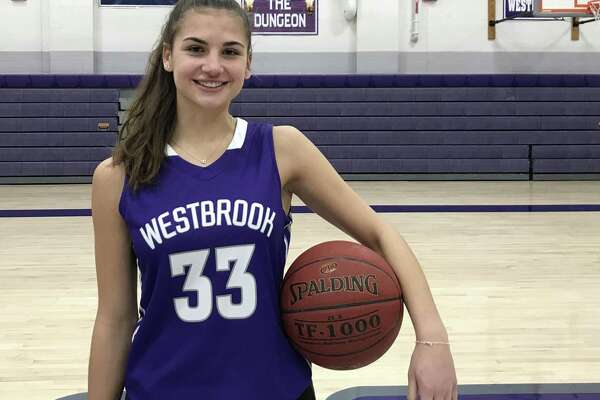 Westbrook's Savannah Marshall has scored more than 1,300 points in high school. She has committed to play at Sacred Heart University next season.
