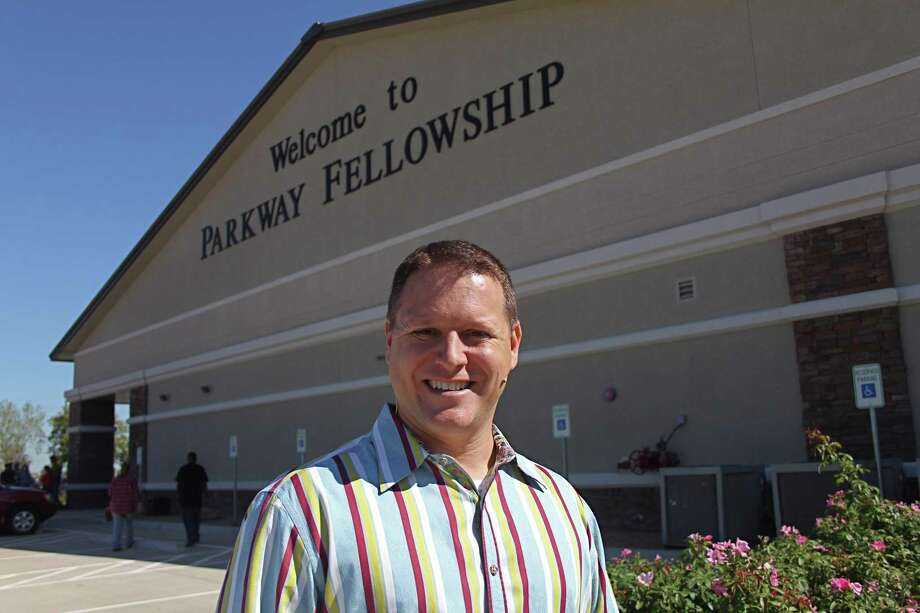 Senior Pastor Mike McGown of Parkway Fellowship Church is shown in front of the campus at 27043 FM 1093 in Richmond in this file photo. Photo: Suzanne Rehak, Freelance Photographer / For The Chronicle