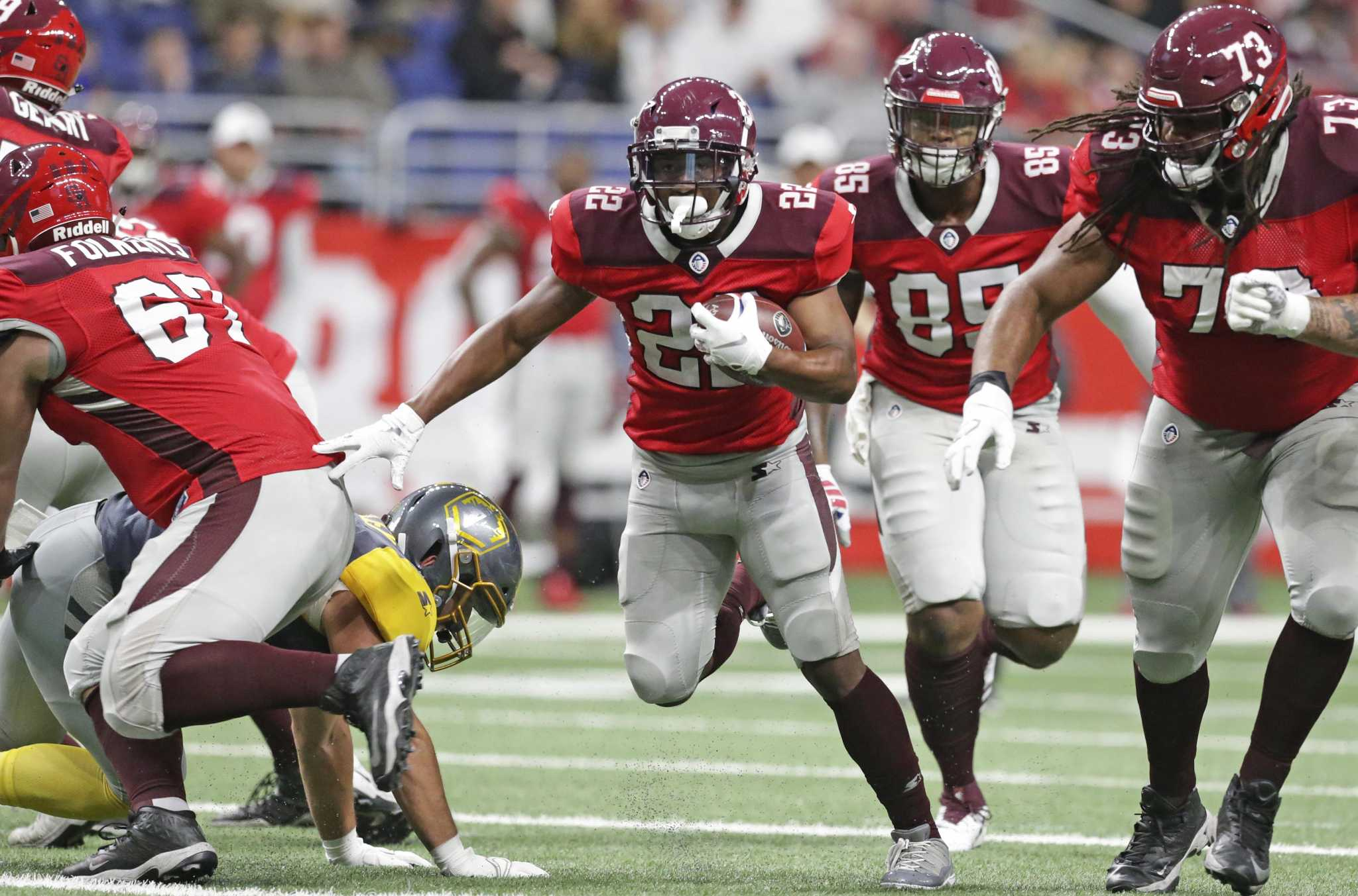 15 San Antonio Commanders with NFL experience