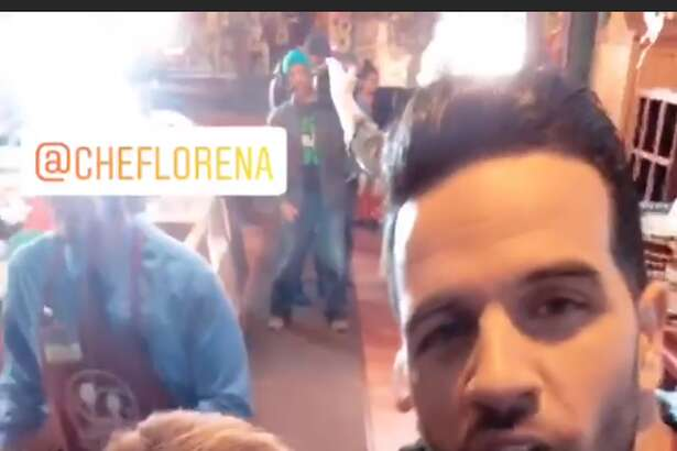 Despierta America host Chef Yisus posted a 24-hour Instagram Story showing his stay in San Antonio.