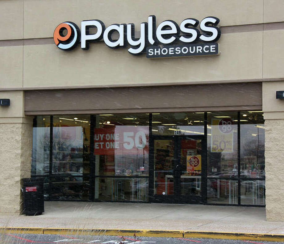 The Payless Shoe Source location in Cottonwood Station Mall in Glen Carbon is one of 2,300 Payless locations nationwide and five in the Metro East that will close in the wake of the bankruptcy proceedings the company filed Feb. 14. Photo: Charles Bolinger | The Intelligencer
