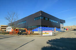 The new $17 million Gene Haas Center for Advanced Manufacturing Skills will open this fall at Hudson Valley Community College.