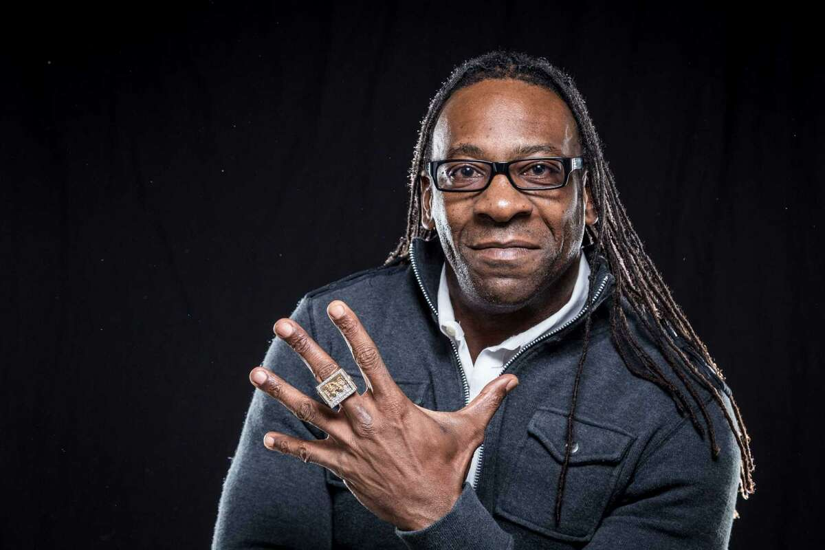 Booker T Hoffman, a former wrestling star turned coach and mayoral hopeful