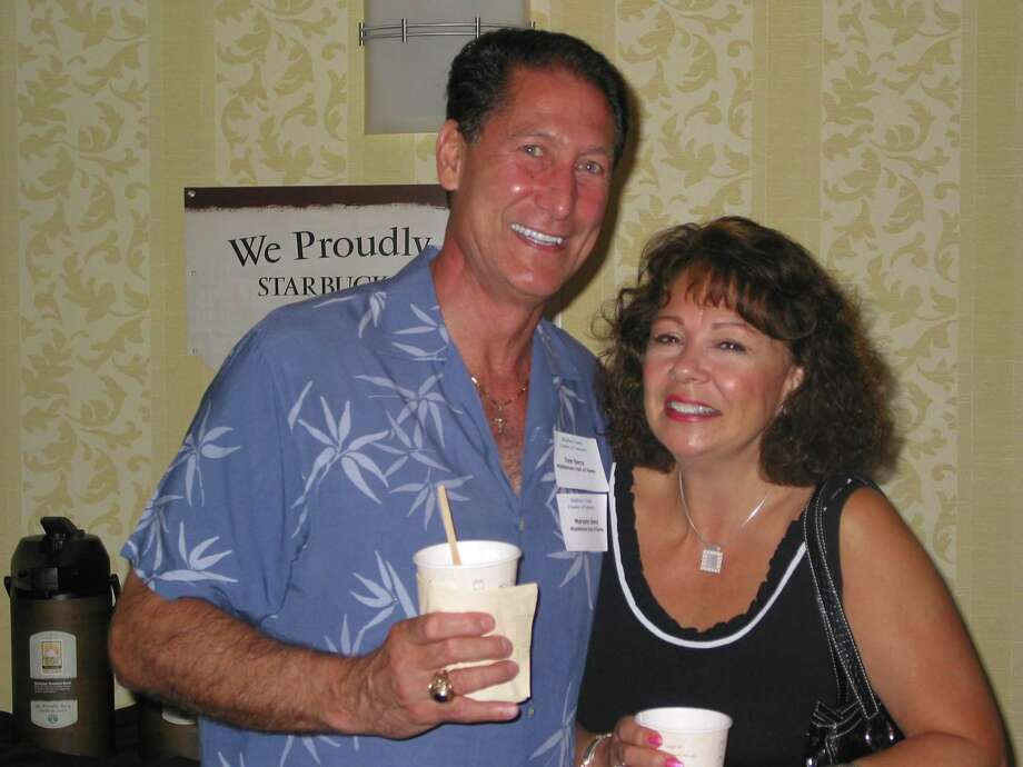 The Middlesex County Chamber of Commerce mourns the death of Middletown Common Council Majority Leader Tom Serra, who spent his life in service to the community. He is pictured here, with wife Maryann, enjoying a Middlesex Chamber Business After Work in August 2005. Photo: De Kine Photo LLC