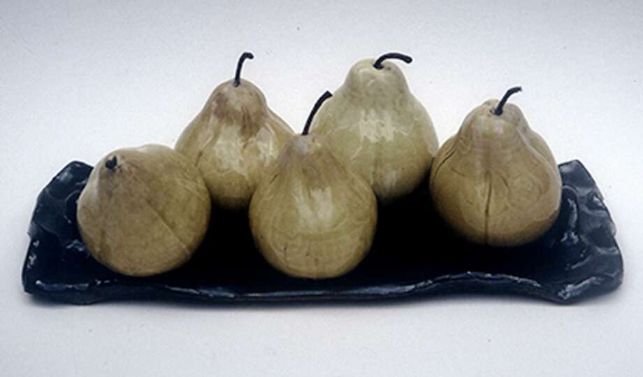 Works by the late artist Lois Eldrige include her famous pears. Photo: Contributed Photo