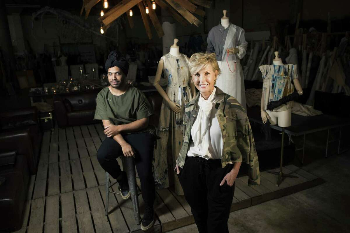 Houston fashion designers Clarence Lee and Jerri Moore