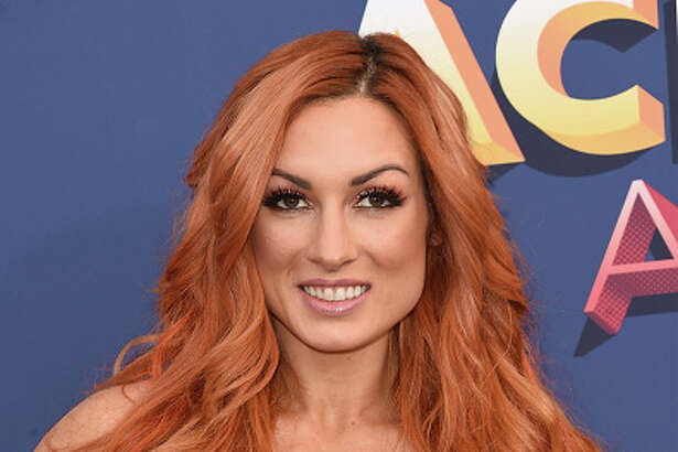 LAS VEGAS, NV - APRIL 15: Becky Lynch attends the 53rd Academy of Country Music Awards at the MGM Grand Garden Arena on April 15, 2018 in Las Vegas, Nevada. (Photo by J. Merritt/Getty Images)