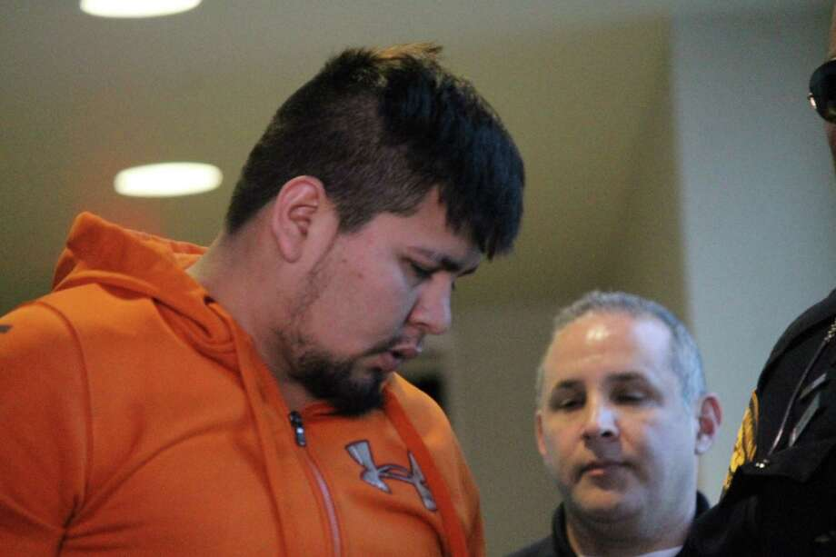 San Antonio police arrested Ulises Artiga, 22, on suspicion of aggravated kidnapping on Feb. 15, 2019. Artiga allegedly pulled a gun on a woman walking along the River Walk and attempted to grab her. Photo: Fares Sabawi/San Antonio Express-News