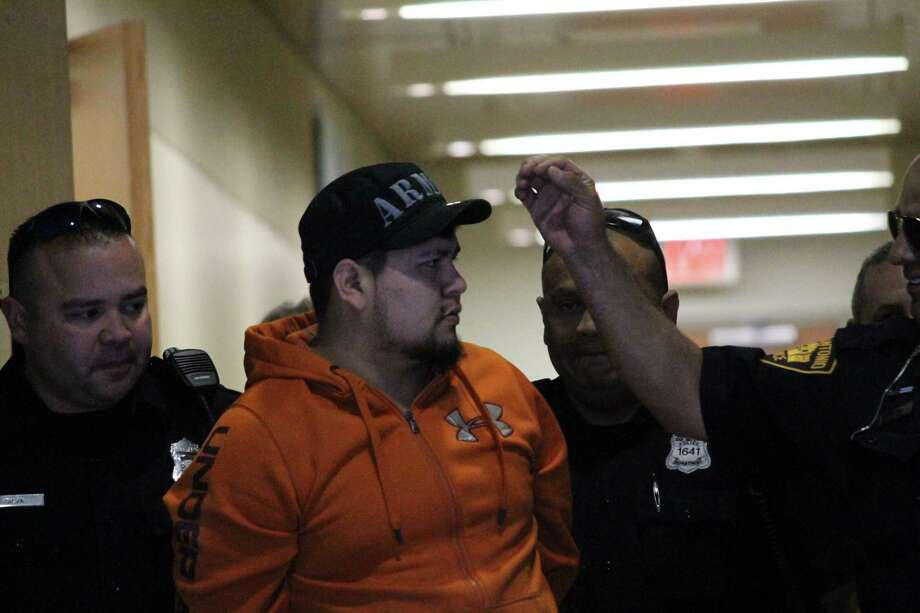 San Antonio police arrested Ulyses Artiga, 22, on suspicion of aggravated kidnapping on Feb. 15, 2019. Artiga allegedly pulled a gun on a woman walking along the River Walk and attempted to grab her. Photo: Fares Sabawi/San Antonio Express-News