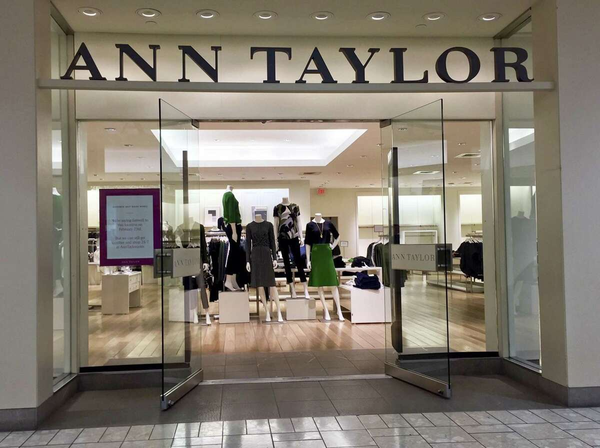 Ann Taylor closed its store at Stamford Town Center on Feb. 23, 2019.