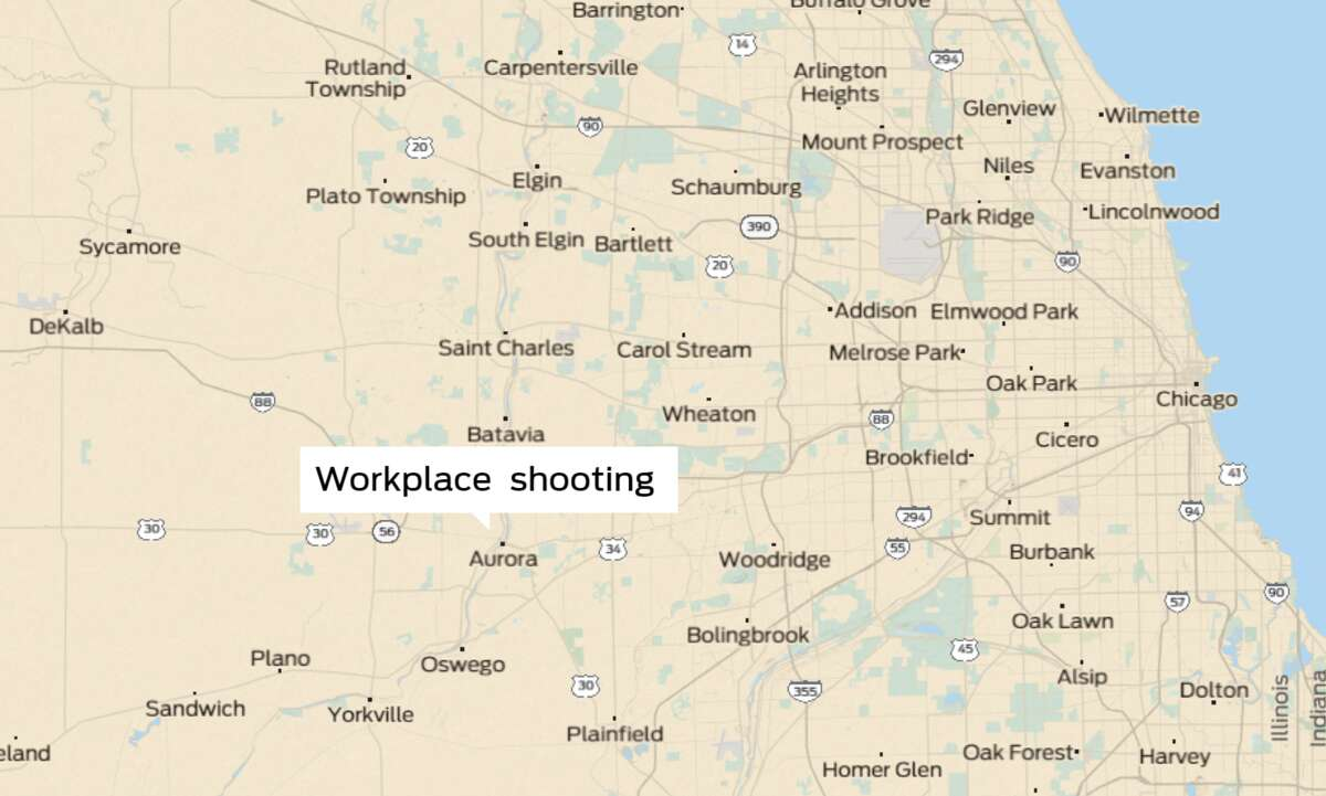 A workplace shooting took place at Henry Pratt Co. in Aurora, Ill.