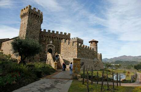 The Castello di Amorosa in Calistoga is a 121,000-square-foot replica of a 13th century Tuscan castle. Photo: Eric Risberg / Associated Press 2010