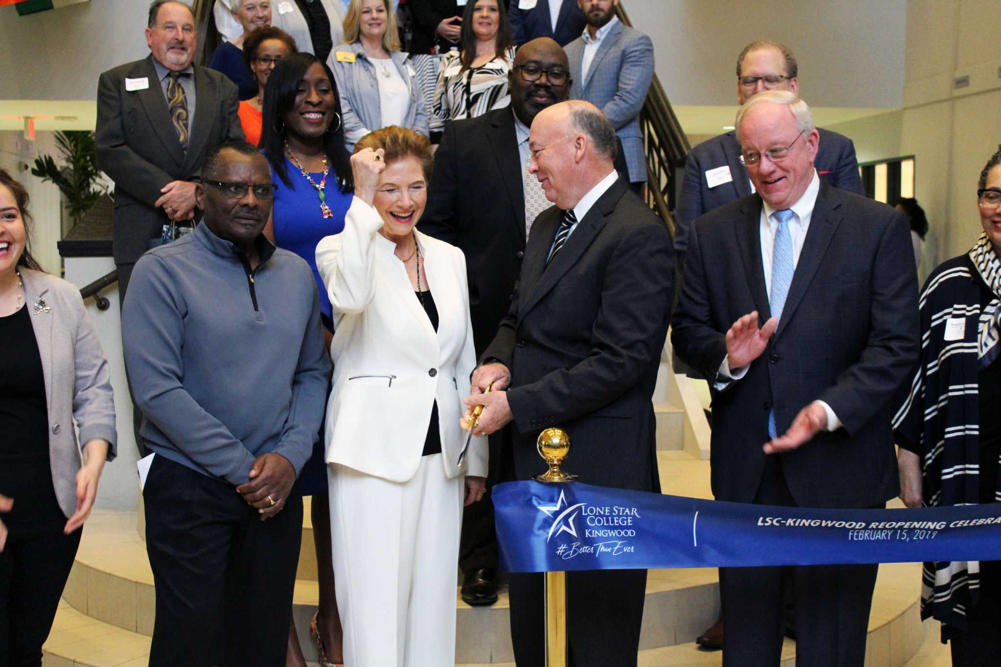 Lone Star College celebrates grand reopening of the Kingwood campus