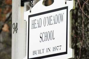 File photo of Head O'Meadow Elementary School in Newtown, one of the town's elementary schools expected to get a new recycling program in the fall.