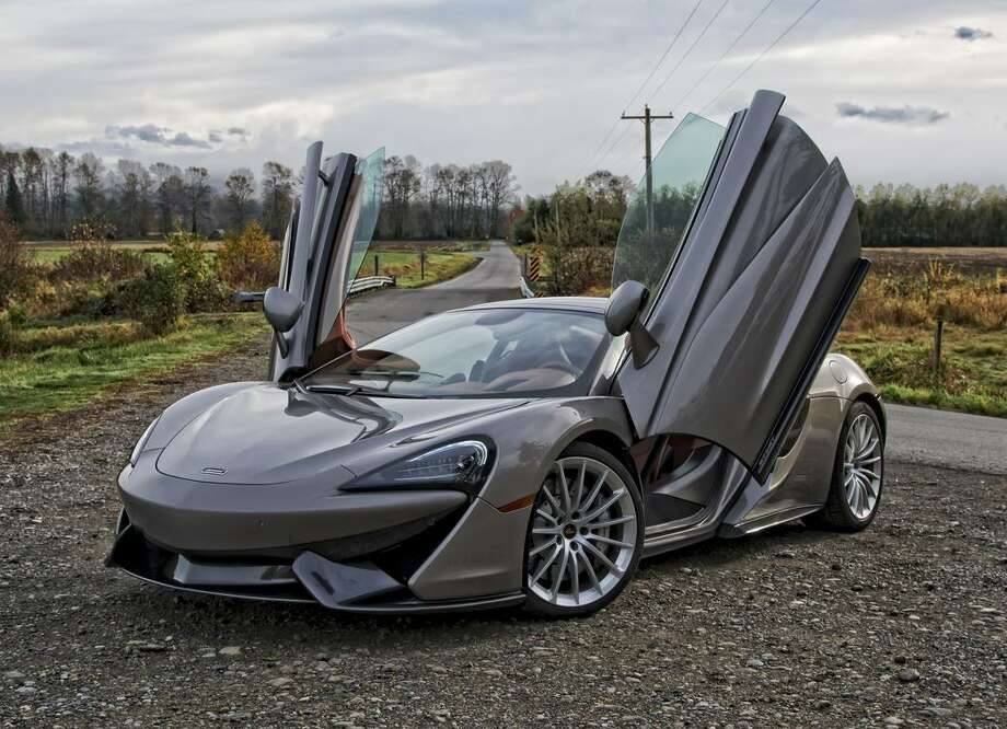 The McLaren 570S, which starts around $195,000, is a two-seat twin-turbo V8-powered mid-engine British supercar. Photo: Martin Campbell / MARTIN CAMPBELL