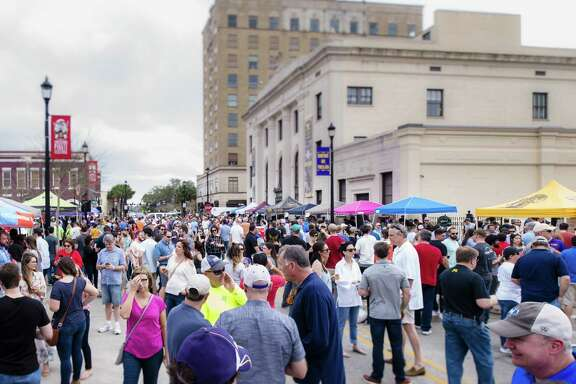 The Louisiana Winter Beer Festival will be held March 9, 2019, in downtown Lake Charles, La.
