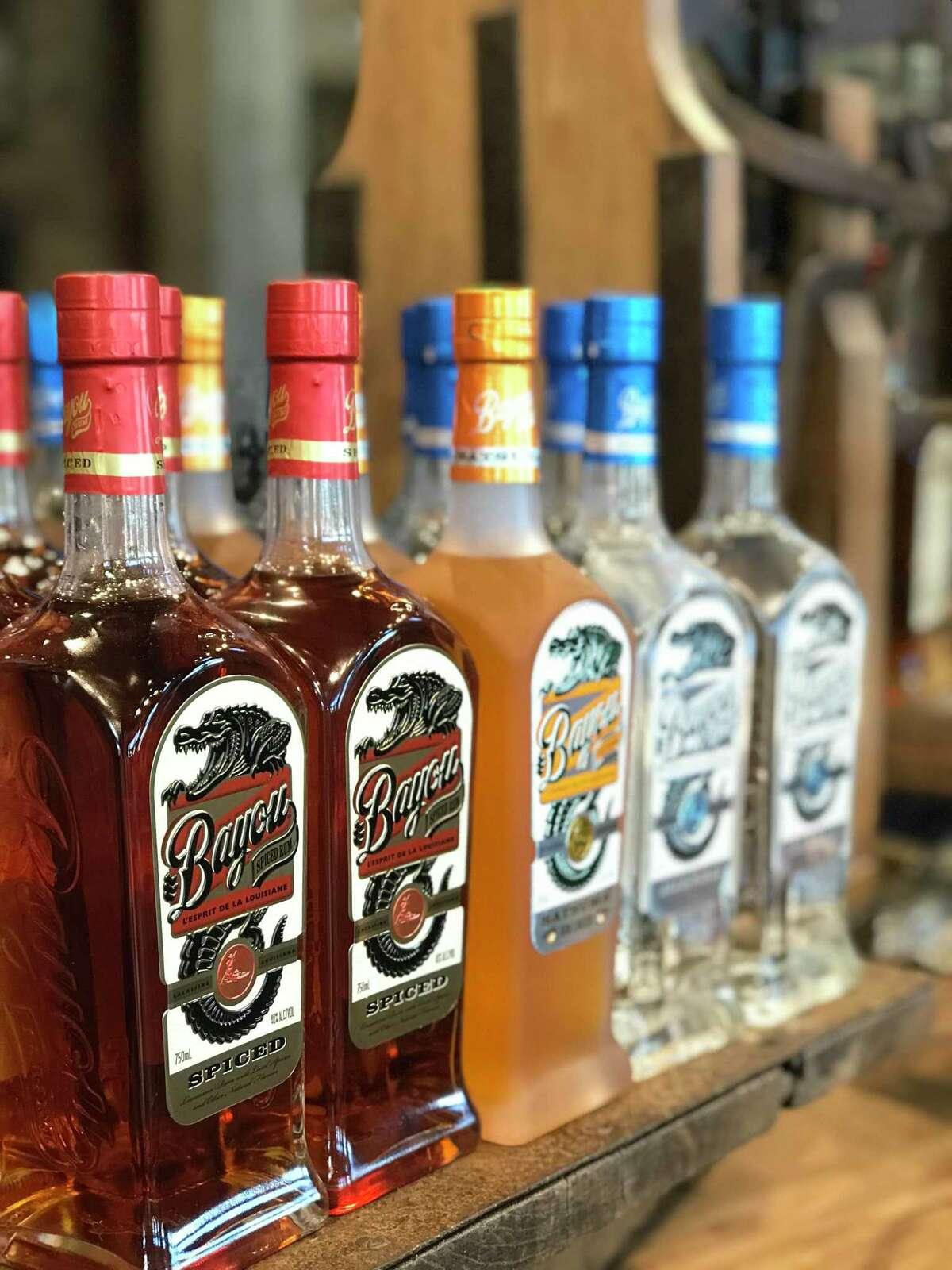 Louisiana Spirits Distillery in Lacassine, La., produces Bayou Rum, made from Louisiana sugarcane.
