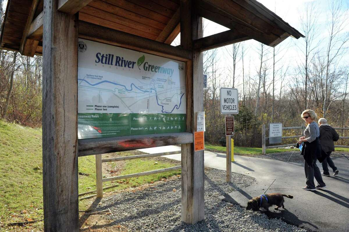 The Still River Greenway, a nearly two-mile trail that parallels Route 7 and the Still River, will soon officially open. Photo Monday, Nov. 14, 2016.