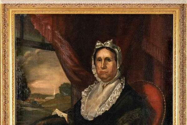 The New Milford Historical Society and Museum purchased an oil painting of Tamar Boardman Taylor, a prominent former resident in an online auction.