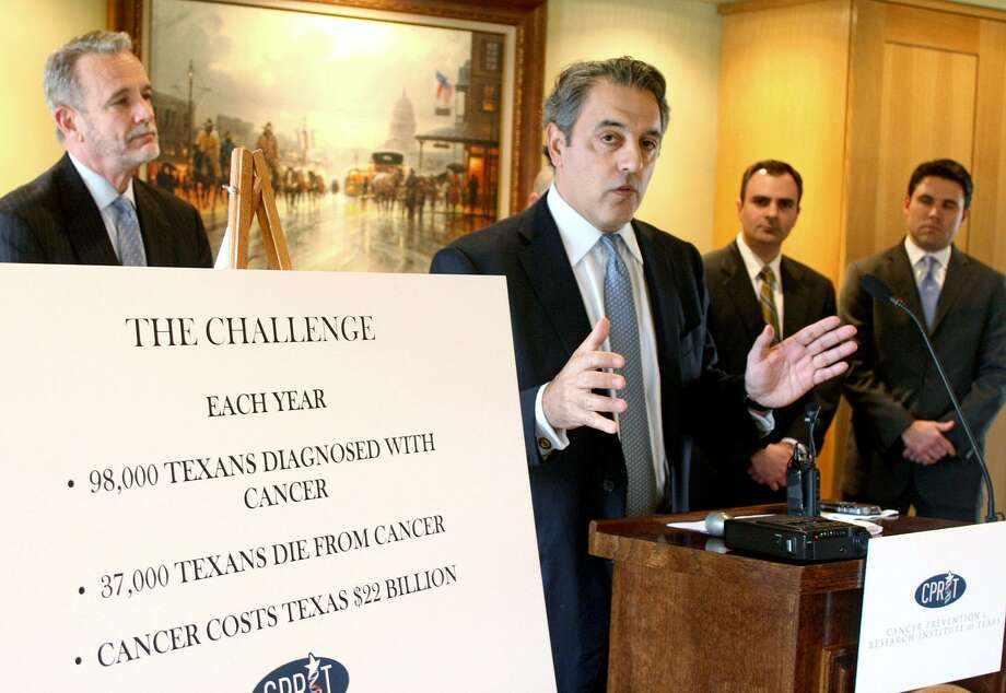 In 2009, $60 million for cancer projects in Texas was released. Now, the Legislature needs to provide $600 million and allow a vote on a constitutional amendment to protect such programs. Photo: Associated Press File Photo / FR59553 AP