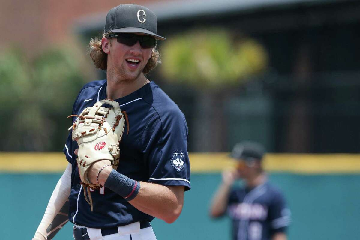 Orange's Chris Winkel hit four homers and 33 RBIs last season at UConn and is looking to continue to improve in his junior season.