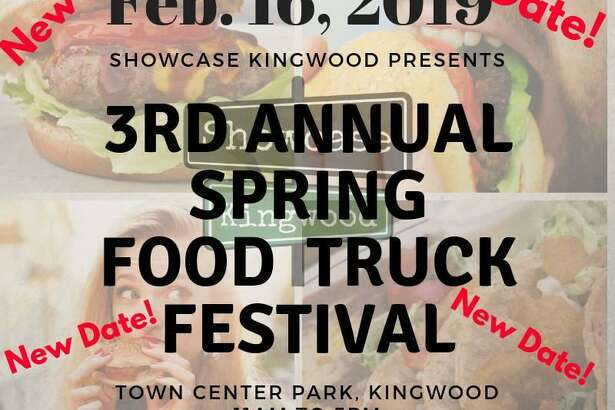 Initially the 3rd Annual Spring Food Truck Festival was scheduled for last Saturday, Feb. 9, but temperatures became frigid.