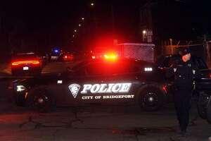 Bridgeport, Conn., police investigate a fatal shooting on Jan. 30, 2018.