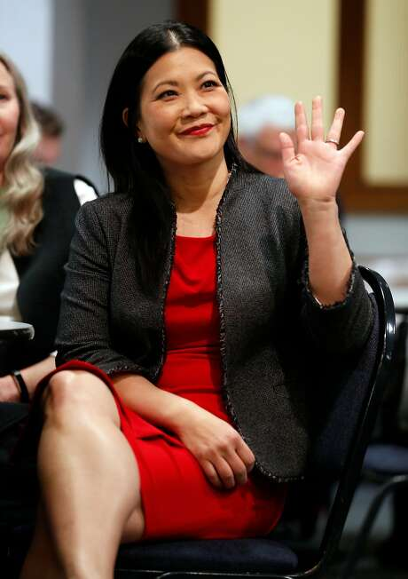 San Francisco district attorney candidate Nancy Tung is offering the most moderate campaign and the most tough-on-crime positions in the race. Photo: Scott Strazzante / The Chronicle