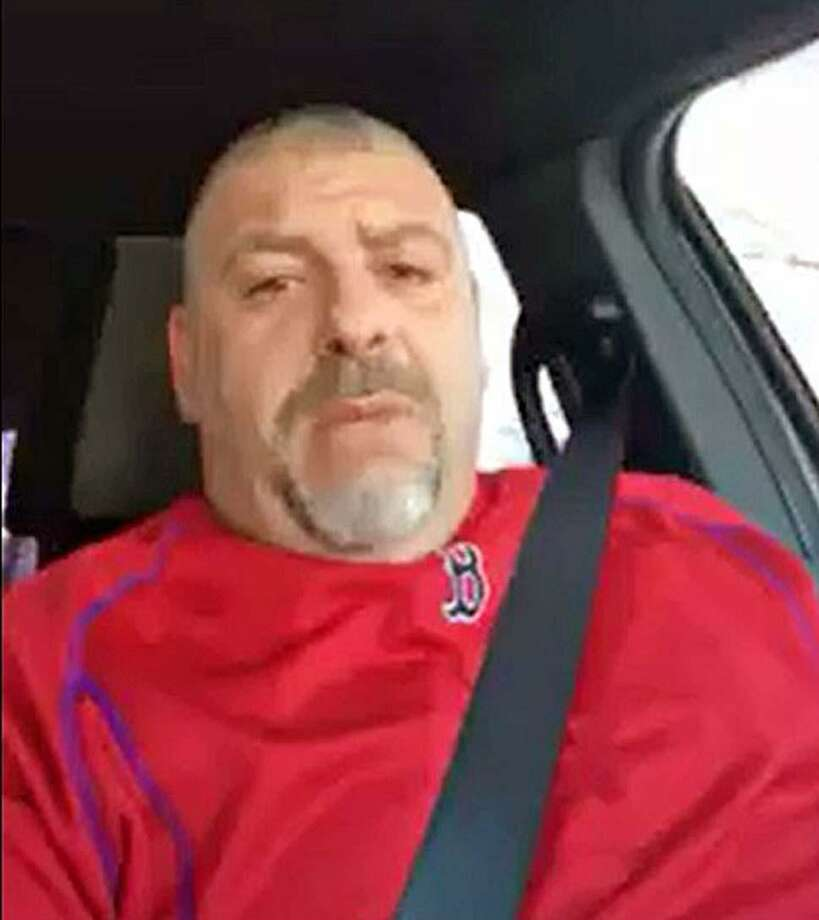 A screenshot from one of the two videos obtained by Hearst Connecticut Media that show Naugatuck, Conn., Police Lt. Bryan Cammarata making racially-motivated statements. Photo: Contributed Photo / Connecticut Post Contributed
