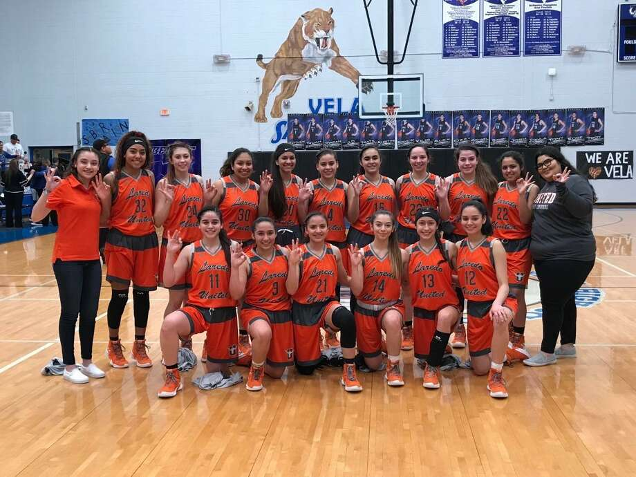 United picked up a 70-44 win at Edinburg Vela Friday. The Lady Longhorns are heading to the third round of the playoffs for the third straight season and will face local rival United South. Photo: Courtesy Of United Athletics