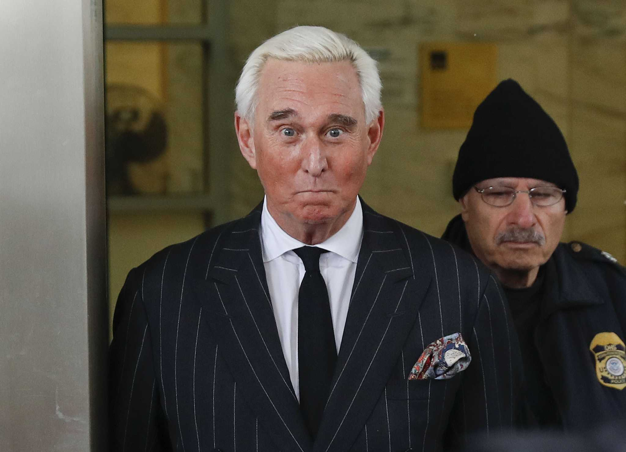 Stone deletes photo of judge presiding over his case, says he didn't mean to threaten her