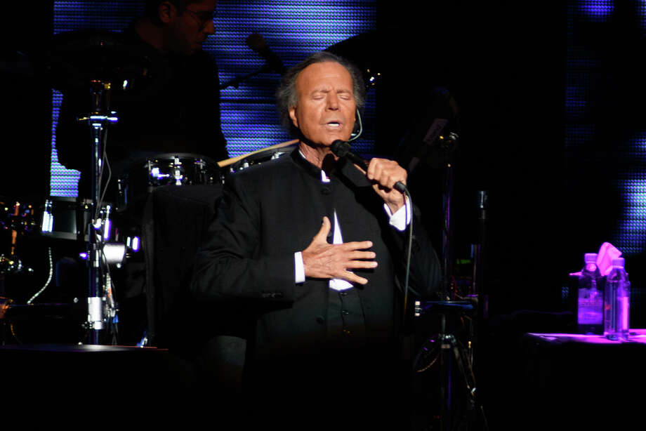 Julio Iglesias is set to take the stage at the Wagner Noel Performing Arts Center on Thursday. Two other music icons also will be at the center.  Photo: Jamaal Ellis, Contributor / 2019