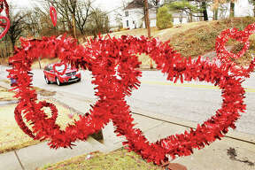 It's likely the most popular color Thursday was red - whether it surrounded a box of chocolates or came as a bouquet of roses, it was everywhere for Valentine's Day.