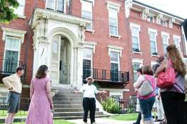 The Enos Apartments located at 325 E 3rd St. in Alton are among the stops on the Underground Railroad Tours.
