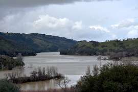Del Valle Reservoir flooded over its banks over the weekend and the park will be closed through March 3