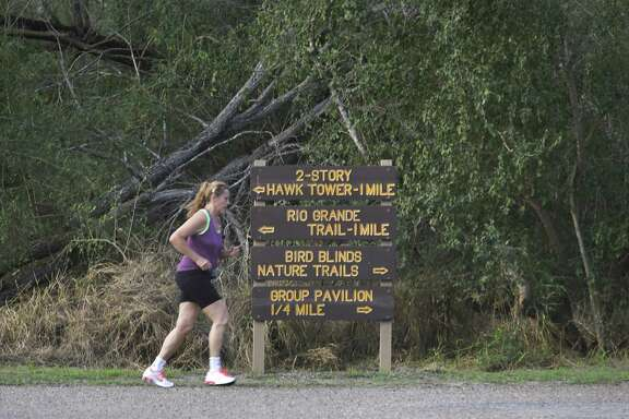 Bentsen Rio Grande Valley State Park is popular with runners as well as birders, on Friday, Feb. 8, 2019.